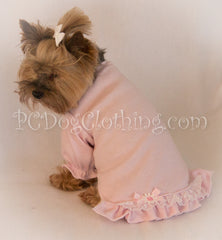 Baby Pink Nightgown Long Sleeves