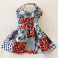 Summer Bandana Patchwork Dress (Clearance)