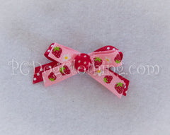 Strawberries Hair Bow