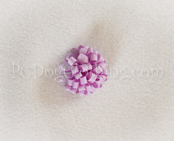 Lavender Loopy Hair Bow SLB14