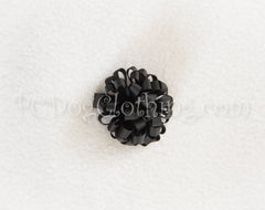 Black Loopy Hair Bow SLB46