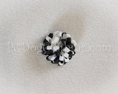 Black and White Loopy Hair Bow SLB47