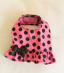 Pink and Black Dot Summer Shirt