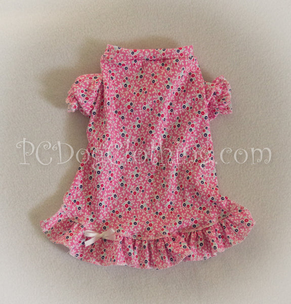 Little Flowers Nightgown Short Sleeves