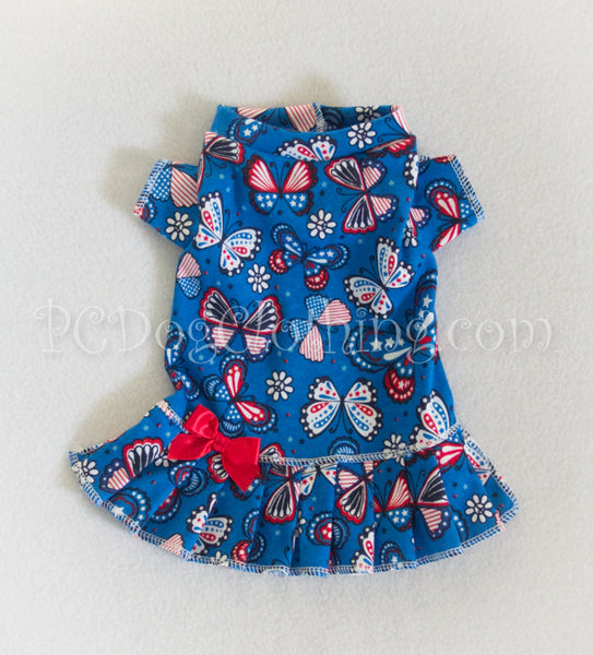 American Butterflies T-Shirt Dress