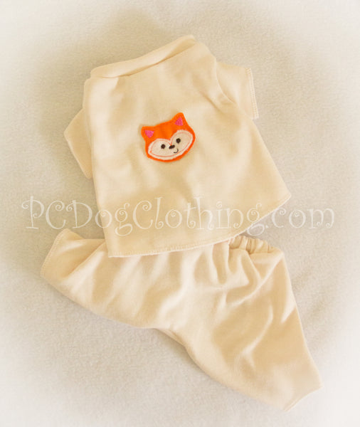 Little Fox Knit 2 Piece Pajamas