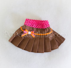 Brown ~Little Fox Skirt
