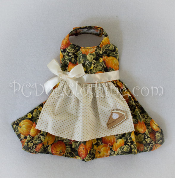 Pumpkin Pie Thanksgiving Dress