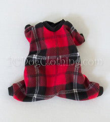 Red and Black Plaid Pajamas (Clearance)