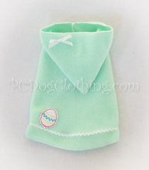 Mint Easter Egg Hoodie Dress