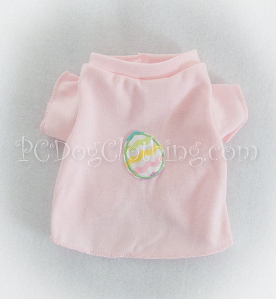Chevron Egg Pink T Shirt