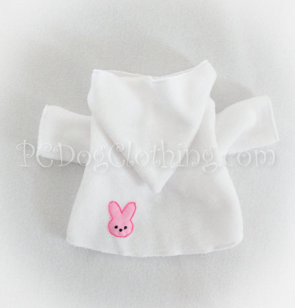 Pink Marshmallow Bunny Hoodie