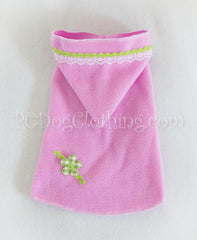Lime Daisy Hoodie Dress