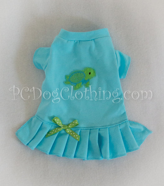 Sea Turtle T-Shirt Dress
