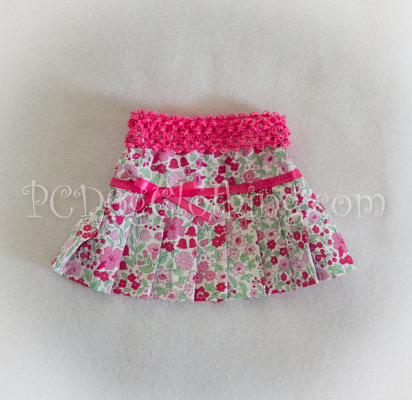 Pink and Green Skirt