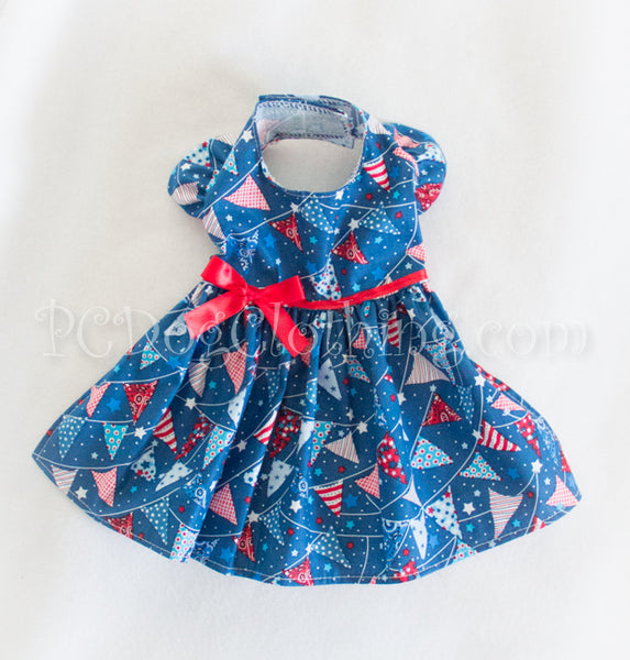 Red, White, and Blue Flags Dress