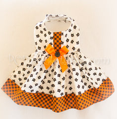 Button Kitty Dress