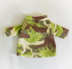 Camo Dinosaurs Long Sleeved T Shirt