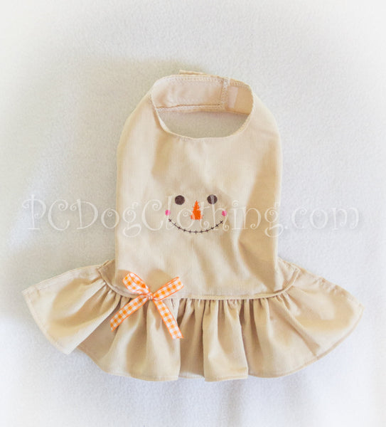 Scarecrow Corduroy Dress