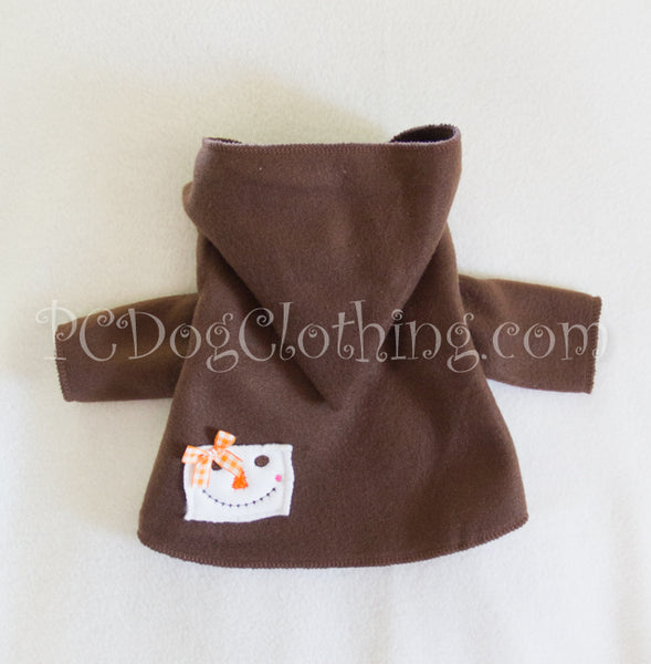 Brown Scarecrow Dog Hoodie