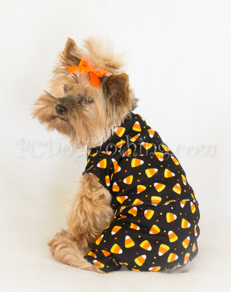 Candy Corn Knit 2 Piece Pajamas