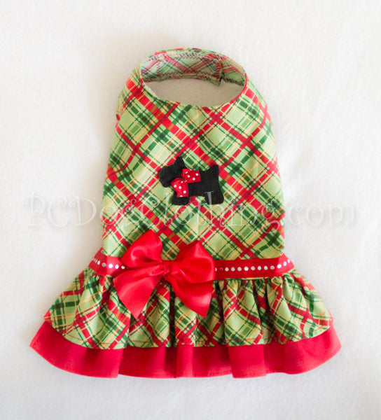Scottie Christmas Dress (Clearance)
