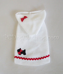 Scottie Dog Hoodie Dress