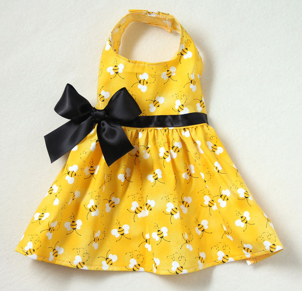 Yellow Bumblebee Dress