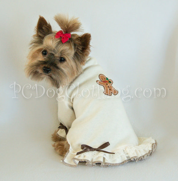 Gingerbread Nightgown Long Sleeves