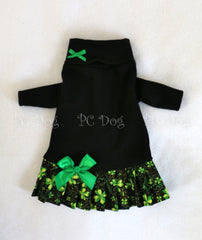 St. Patrick's Day Turtleneck Shirt Dress