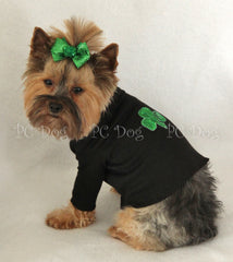 Sequin Shamrock Turtleneck