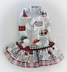 Winter Pup Christmas Dress