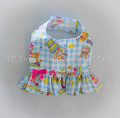 Gingham and Bunnies Summer Shirt