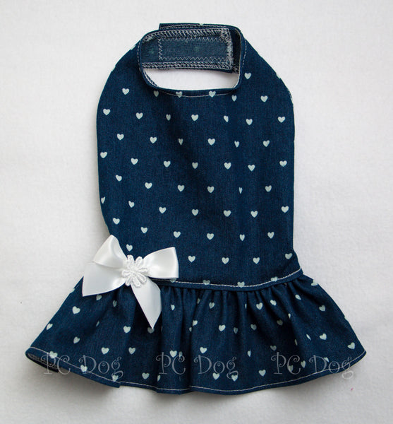 Denim and Hearts Dress
