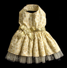 Golden Snowflake Dress