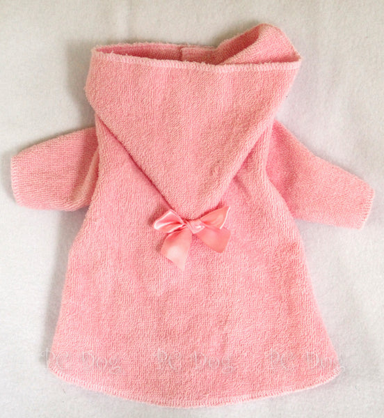 Pink Terry Robe