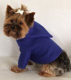 Bright Blue Fleece Hoodie