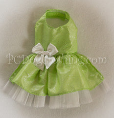 Spring Green Shimmer and Sparkle Dress