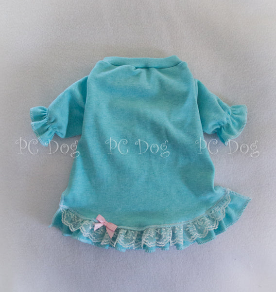 Light Teal Knit Nightgown