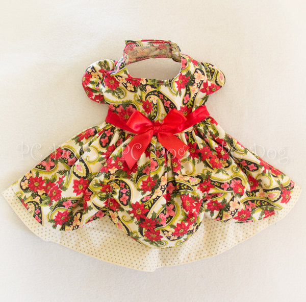 Christmas Paisley Dress