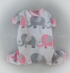 Baby Elephant Fleece Pajamas