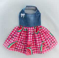 Denim Picnic Dress