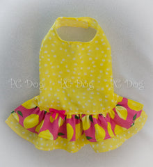 Bright Lemons and Dots Dress