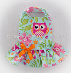 Bright Summer Owls Dress