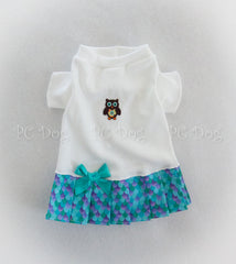 Little Owl T-Shirt Dress
