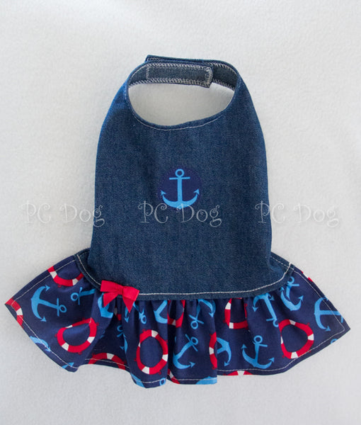 Denim and Anchors Dress