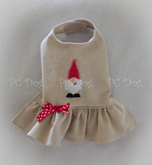 Winter Gnome Corduroy Dress