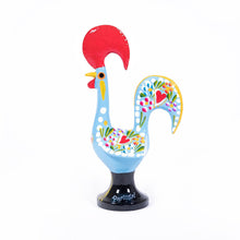 Load image into Gallery viewer, Galo de Barcelos Rooster _ 16cm _ Blue