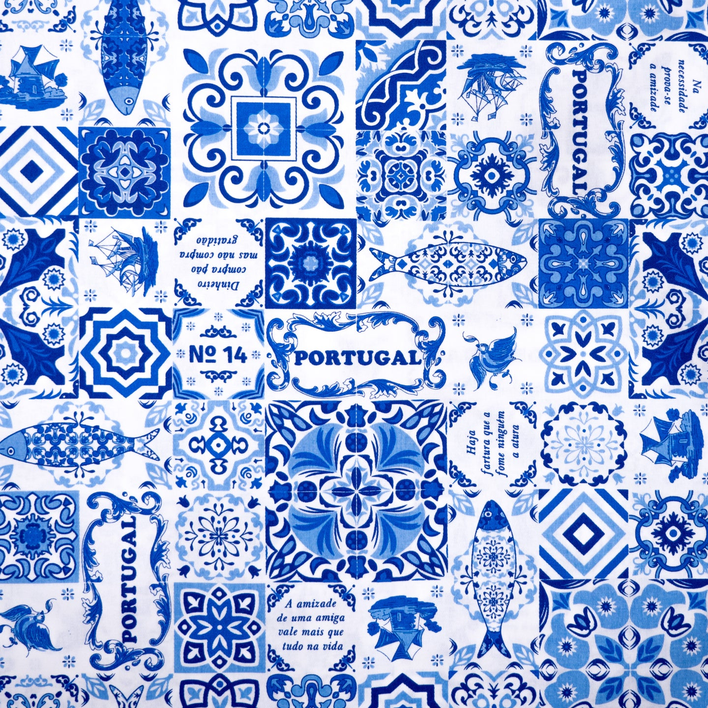 Casa Portuguesa Royal  _ Fabric by Yard