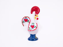 Load image into Gallery viewer, Barcelos Rooster _ Magnet 8cm White